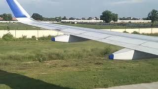 landing at allahabad airport 🛬🛬