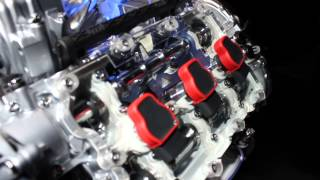 3.0 TFSI Audi Engine in detail - IAA Frankfurt 2013