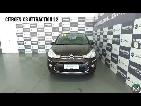 video carousel item Citroen C3 1.2 Attraction 12v Flex 4p Manual 2019