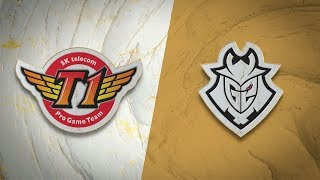 SKT vs G2 | Semifinal Game 2 | World Championship | SK Telecom T1 vs G2 Esports (2019)
