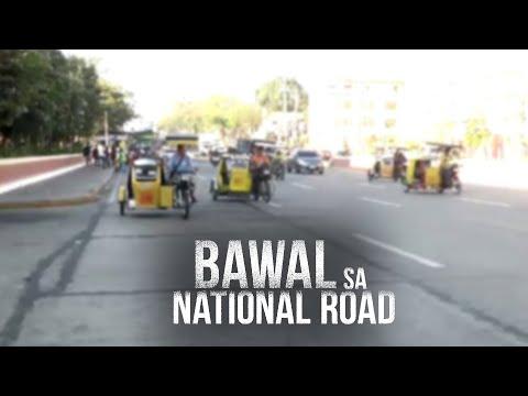 [GMA]  24 Oras: Mga tricycle na pinagbawalang dumaan sa mga highway, hinahanapan ng alternatibong ruta