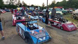 Kids Dirt Track Racing-mini Wedge Kart Racing Action
