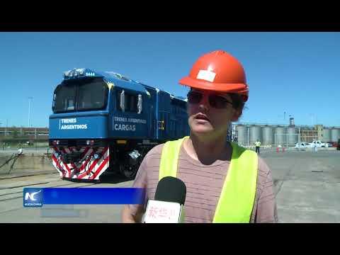 Argentina recibió ocho locomotoras chinas más