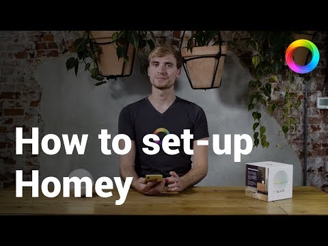 How to set-up Homey