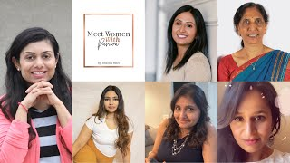 Meet Women with Passion Series Introduction by Bhavna Patel