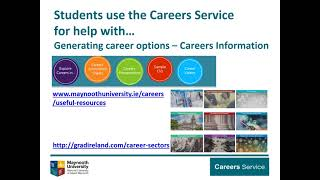 Using the Career Service