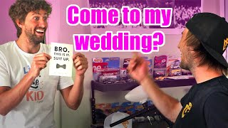 Asking Friends & Brothers To Be Groomsman!