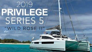 Buy this Privilege Series 5 Sailing Catamaran! | Video Preview of Upcoming Walkthrough