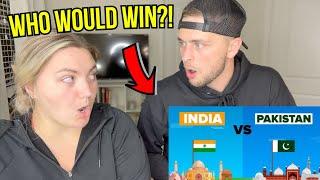 India VS Pakistan | Military Comparison | REACTION!