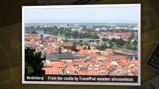 preview picture of video 'Heidelberg - Old Castle Ruins Aliceandmac's photos around Heidelberg, Germany (travel pics)'
