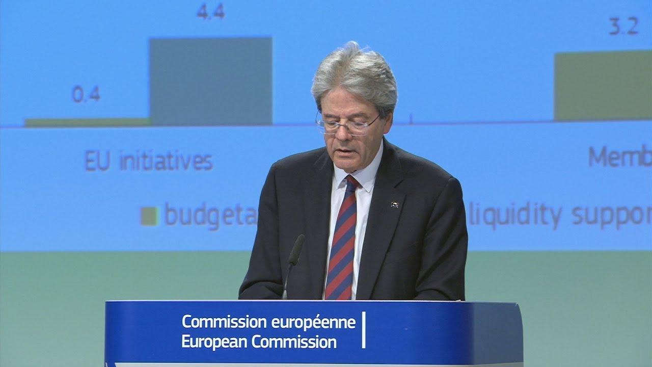 ΕΕ-Ευρωζώνη: Η Κομισιόν προβλέπει 'ιστορική' ύφεση το 2020