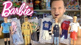 CAREER KEN TAKES THE DAY OFF: NEW BARBIE 2019 FASHION PACKS UNBOXING REVIEW