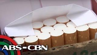Bandila: P10 buwis kada stick ng yosi, ipinanawagan
