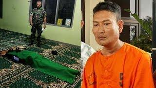 Pria yang Tewas Dibacok saat Salat di Masjid Ternyata Dibunuh Tetangga, Polisi Ungkap Motif Pelaku