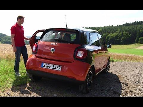 Smart Forfour: Geräumiger als man denkt - Die Tester   auto motor und sport