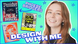 How To Design Music Posters: Phoebe Bridgers Edition
