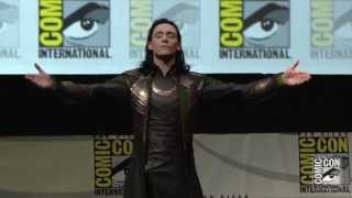 Loki at Marvel Studios' San Diego Comic-Con Panel - Official