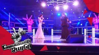 Arevik Armenakyan vs Christina Khalatova sing 'Ձյուն' - Battle – The Voice of Armenia – Season 4