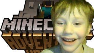 """Майнкрафт, Малыш играет в """"Minecraft"""""""