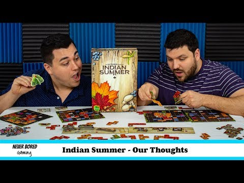 Never Bored Gaming - Our Thoughts (Indian Summer)