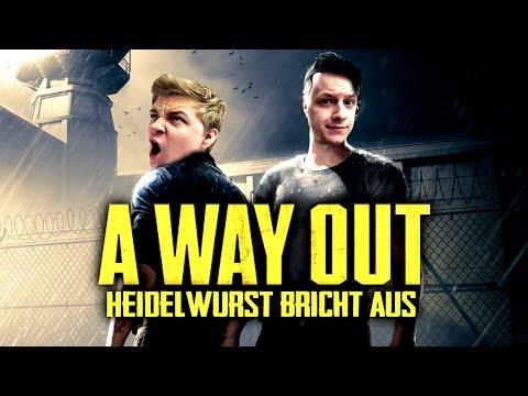 A WAY OUT  - Heidelwurst bricht aus - A Way Out Gameplay Deutsch