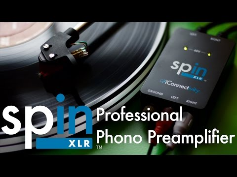 ICONNECTIVITY Spin XLR Phono preamp