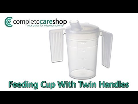 Feeding Cup With Twin Handles