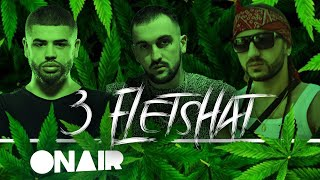 Noizy Ft. OverLord & NiiL B   3 Fletshat (Official Lyrics Video) Scarecrow Beats