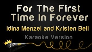Frozen - For The First Time In Forever (Idina Menzel and Kristen Bell) (Karaoke Version)