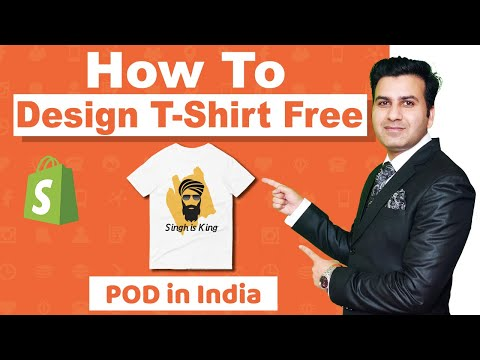 How To Create Free T-Shirt Design Like Professional Hindi- Digital Danish