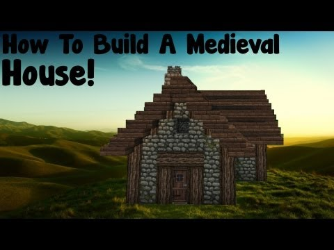 how to build a small medieval house minecraft project. Black Bedroom Furniture Sets. Home Design Ideas