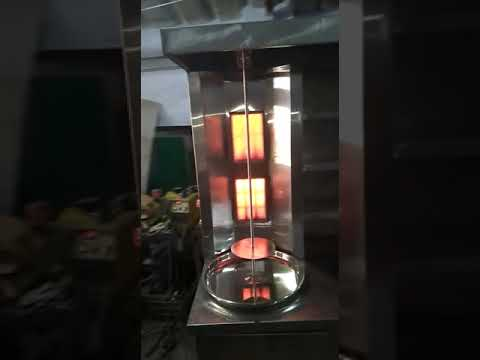 Shawarma Machine Two Burner
