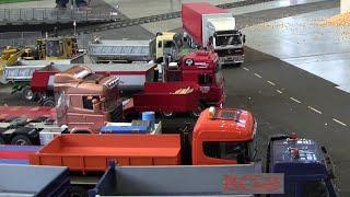 preview picture of video 'RC Trucks auf Echtdampf Treffen Karlsruhe - part 3 - Mercedes SK Trucks'