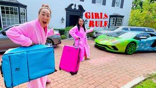 THE GIRLS TAKE OVER THE TEAM RAR HOUSE!!
