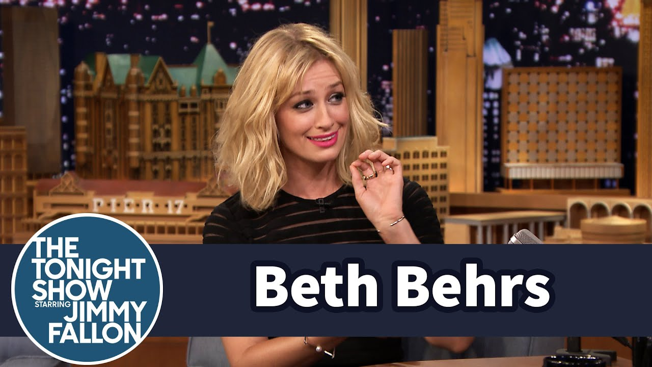 Beth Behrs Sliced Open Her Hand Eating Healthy thumbnail