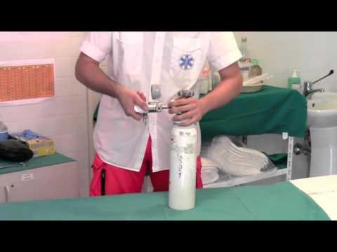 Montaggio Bombola di Ossigeno
