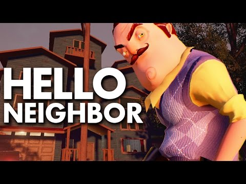 Hello Neighbor Stealth Horror Demo Download And Play