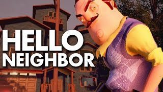 ᐈ Hello Neighbor Gameplay Demo Walkthrough Horror Game