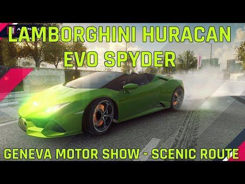 Lamborghini ウラカンエボスパイダー