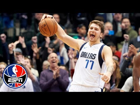 98b716aac4a Luka Doncic s 11-0 run in the fourth powers the Mavericks past Harden