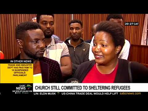 Cape Town Methodist Church remains committed to shelter refugees