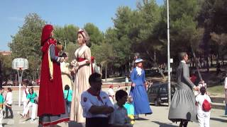 preview picture of video 'Ball conjunt gegants a Ripollet 2012'