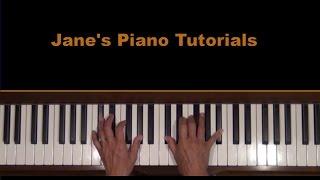 View of Silence Joe Hisaishi Piano Tutorial SLOW