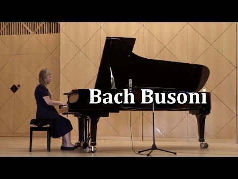 "J.S.Bach /- Busoni: BWV 639 ""Ich ruf zu dir, Herr Jesu Christ"", Ann-Helena Schlüter, Klavier"