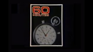 WIFR Channel 23 - Ending of 60 Minutes & Commercial Break (1977)