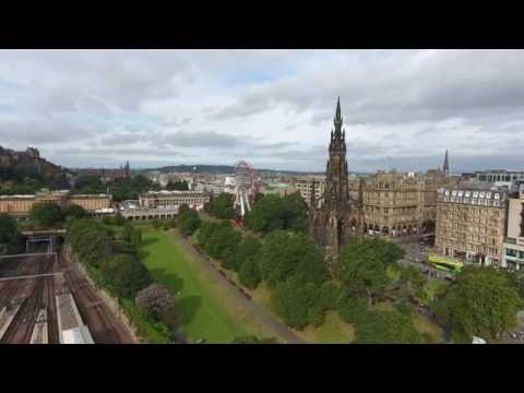 Edinburgh City Center 4K Drone Tour 2016 Part 1 Of 4 Mp3