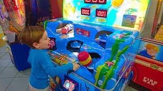 ВЛОГ Летающее Пианино и Рычащий Динозавр DINOSOLES в ТЦ Сити Центр,Кушаем пончики Донатс.Макки Пакки