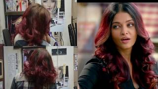 Ombre Technique Step By Step ||burgundy Hair Color Ombre || Nazia Khan