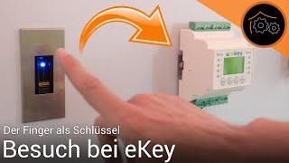 Der Finger als Schlüssel - Besuch bei ekey | haus-automatisierung.com [4K]