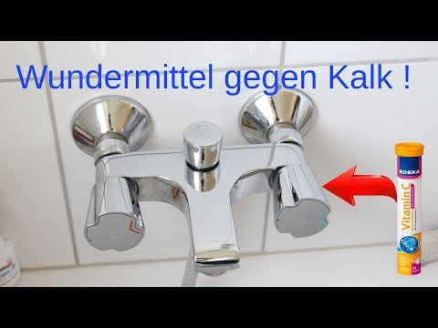 Wundermittel gegen Kalk ! - Miracle Cure For Lime !